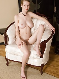 Butterface brunette with natural breasts finally takes off her bathrobe